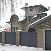 Забор из профиля в Могилёве цена на металлический забор