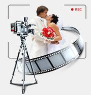 Профессиональная видеосъёмка свадеб Full HD