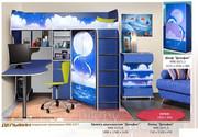 Набор мебели для детской комнаты Дельфин  ДОСТАВКА БЕСПЛАТНО
