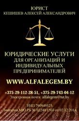 Юридическое обслуживание в Могилеве для организаций и ИП