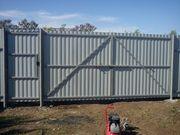 Заборы,  ворота калитки,  навесы (материал + работа)