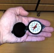 Компас брелок жидкостный,  диаметр 45 мм
