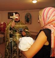 Ведущий на крестбины крестины