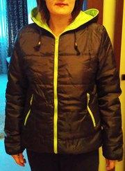Куртка с капюшоном ветровка дождевик весна лето М