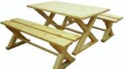 Не дорогие наборы мебели из хвойных пород древесины
