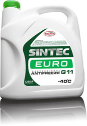 Антифриз Sintec ANTIFREEZE EURO зеленый 5кг