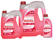Антифриз «SIBIRIA-40» красный 5кг