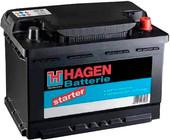 Аккумулятор Hagen 56019 (60 А/ч)