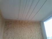Обшивка балкона панелями