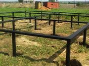*Фундамент на винтовых сваях установим под ключ Кричев и район.