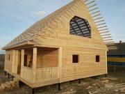 Дом-Баня из бруса готовые срубы с установкой-10 дней недорого Шклов
