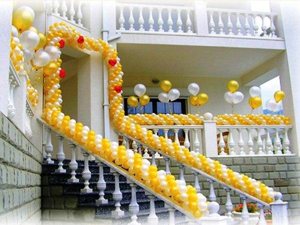 оформление шарами,  украшения +на свадьбу,  зал фото,  украшение зала,  свадебные украшения 10