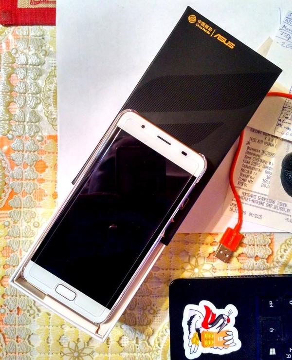ASUS ZenFone 4 Max (X00kd) 32Gb 3 Gb 2 sim+чехол+стекло 2