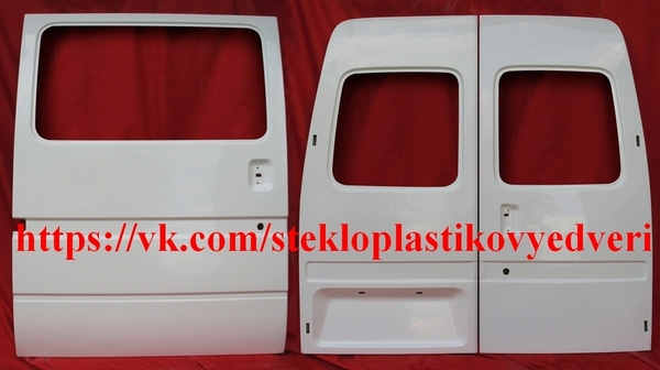 стеклопластиковые задние двери к Форд Транзит 8