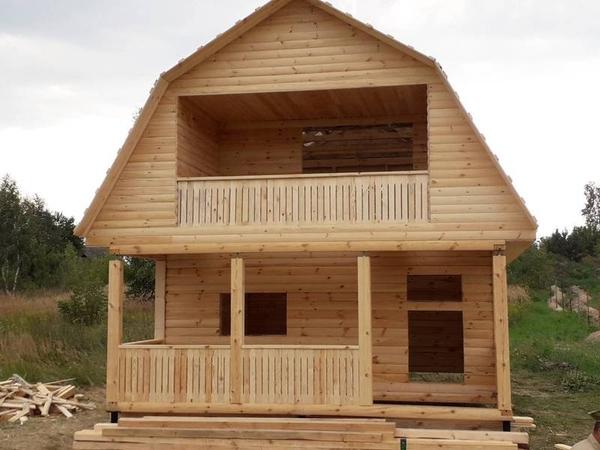 Строим Дома и бани из бруса. Честная цена наших услуг. Шклов
