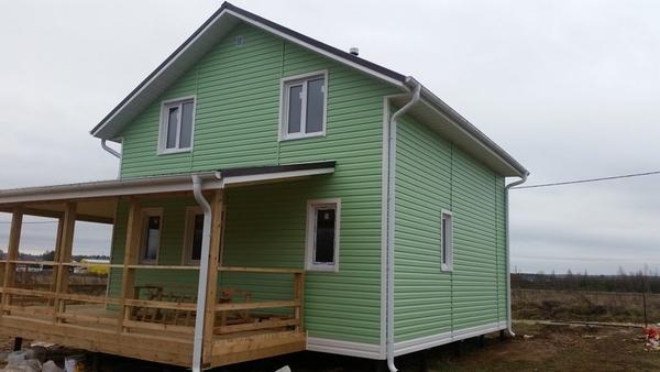 У нас вы можете заказать:строительство Каркасного Дома 2