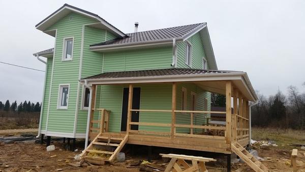 У нас вы можете заказать:строительство Каркасного Дома 3